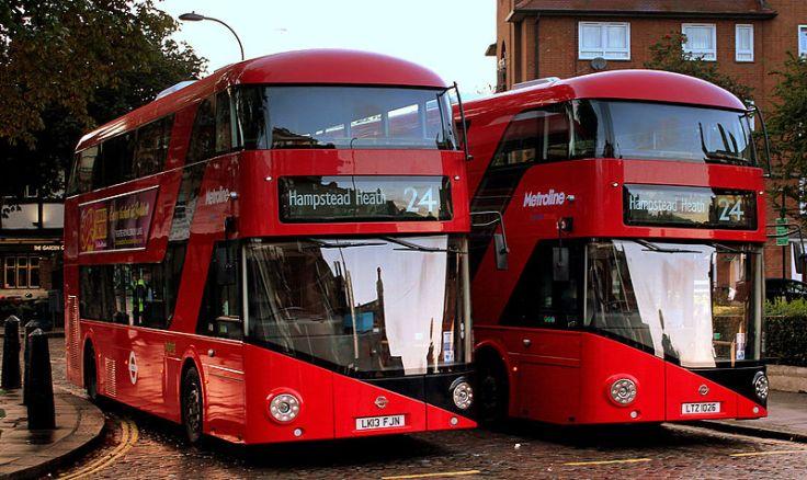Metroline_buses_LT16_(LK13_FJN)_&_LT26_(LTZ_1026),_19_September_2013